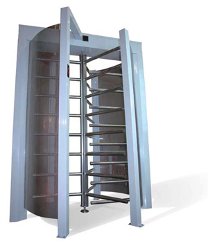 High security turnstile