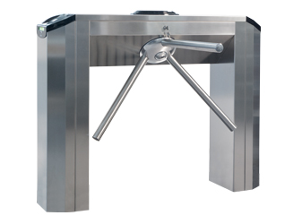 Twister tripod turnstile